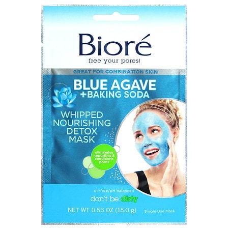Biore Blue Agave & Baking Soda Whipped Mask - 1 oz.