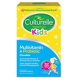 Culturelle Kids Complete Multivitamin Chewable Tablets Natural Fruit Punch