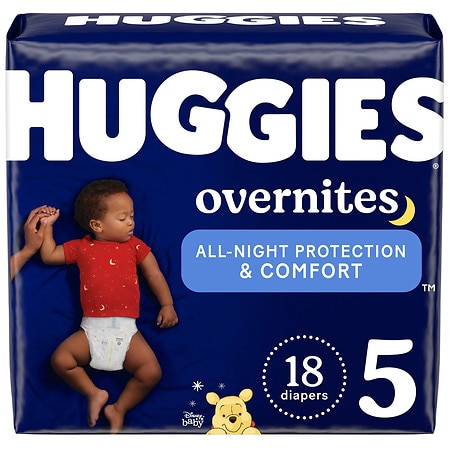 Kirk's Diapers, Size 5 - 18 ea