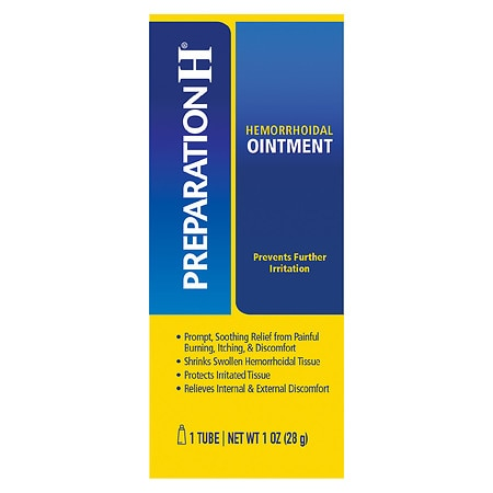 Preparation H Ointment, Hemorrhoid Symptom Treatment - 1 oz.