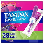 Tampax Pocket Radiant Compact Tampons