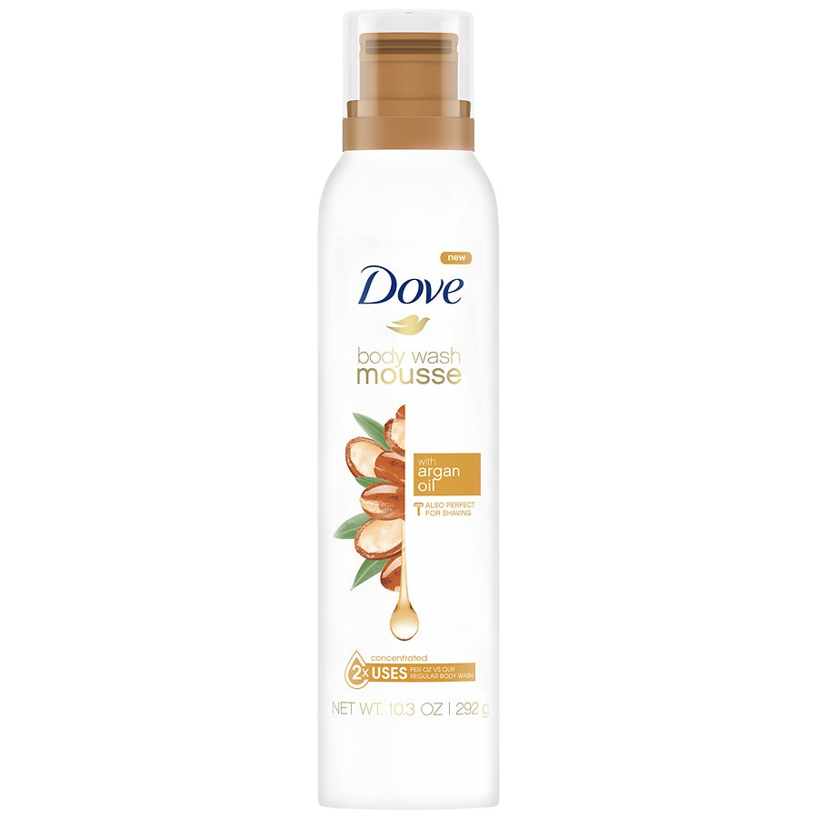 Dove With Argan Oil Body Wash Mousse Walgreens
