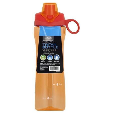 Living Solutions Tritan Bottle w/finger loop Assortment - 1 ea