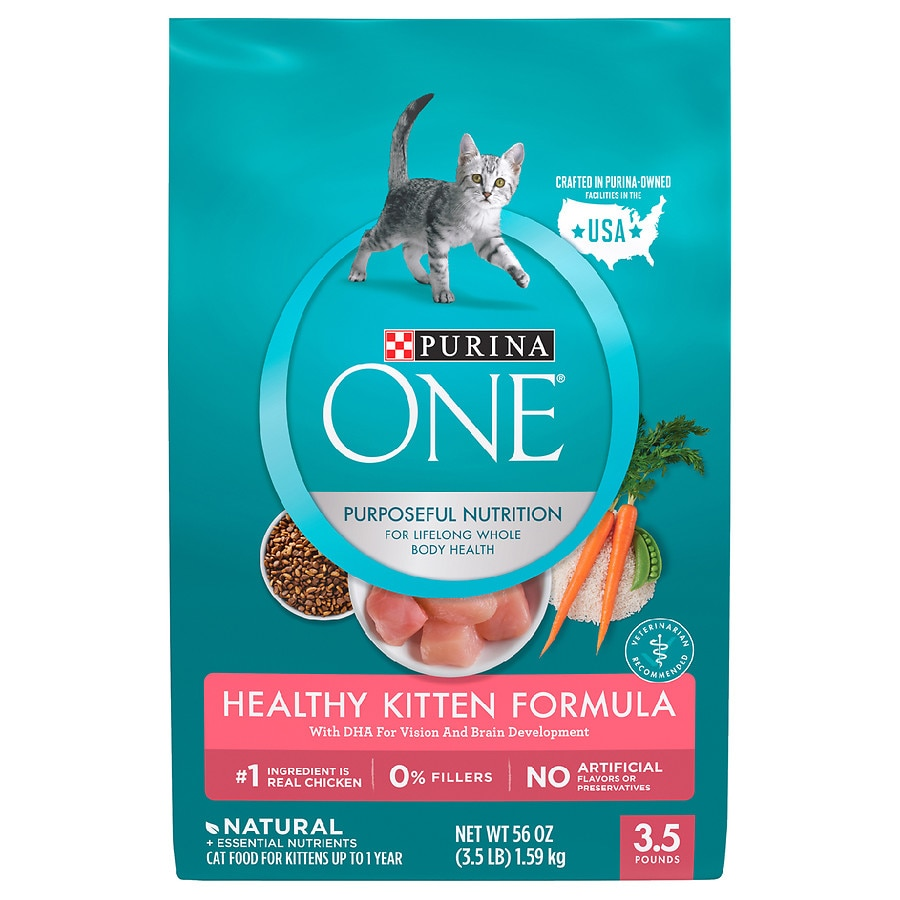 Purina One Cat Food Healthy Kitten Formula Walgreens