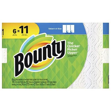 Bounty Select-A-Size, 6 Super Rolls - 101.0 ea x 6 pack