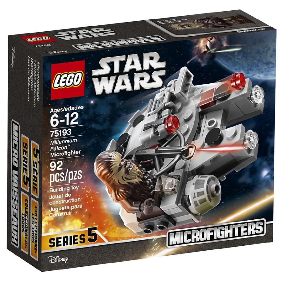 71bacf7c LEGO Systems Star Wars Millennium Falcon Microfighter 75193