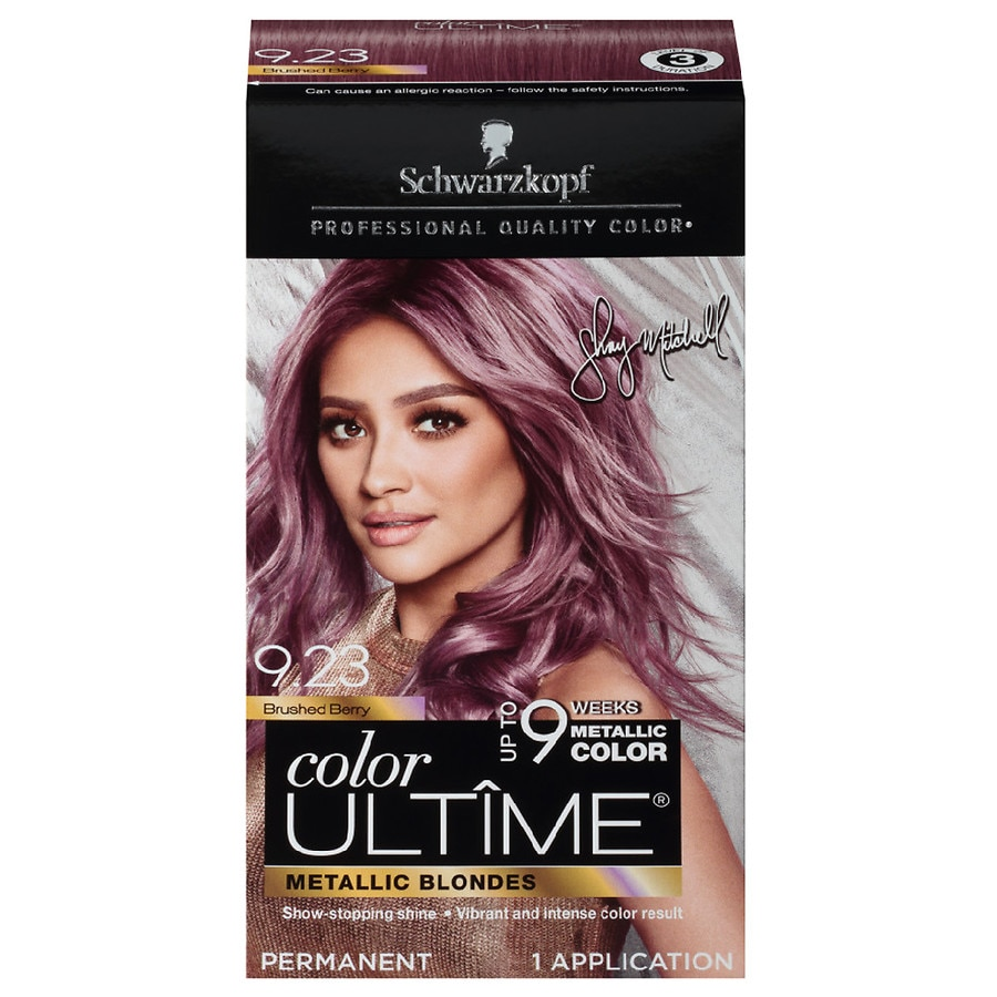 f65dbc76e1bfb4 Schwarzkopf Color Ultime Metallic Permanent Hair Color Cream, Brushed  Berry1 oz