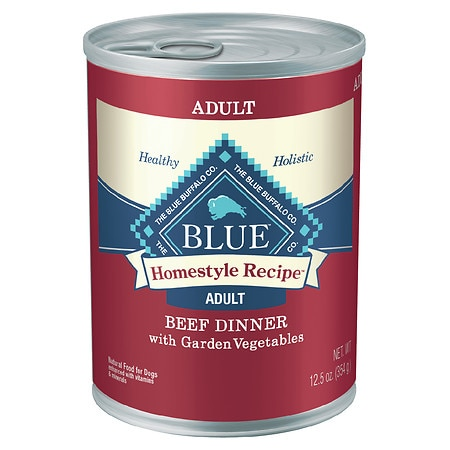 Blue Buffalo Homestyle Recipe Beef Dinner With Garden Vegetables For Dogs