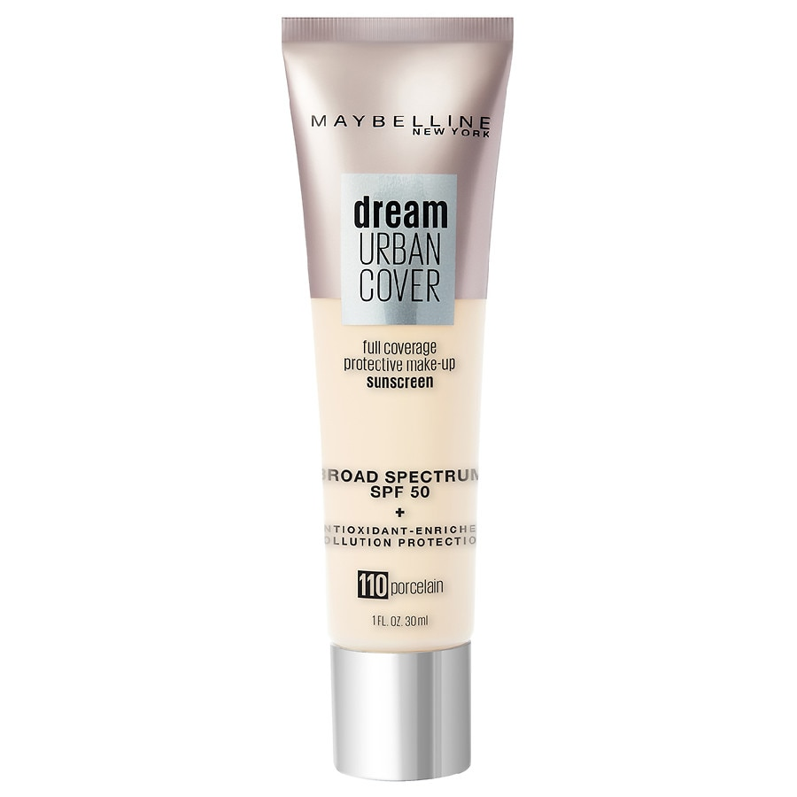Super Maybelline Dream Urban Cover Full Coverage Foundation Makeup Spf 50 Porcelain Download Free Architecture Designs Rallybritishbridgeorg