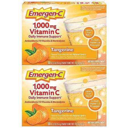 Emergen-C Daily Immune Support Drink - 0.33 oz x 60 pack