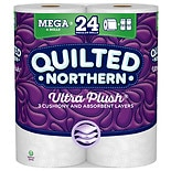 Quilted Northern Ultra Plush Toilet Paper, 6 Rolls, Bath Tissue