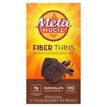 Metamucil Fiber Thins Dietary Fiber Supplement with Psyllium Husk Chocolate
