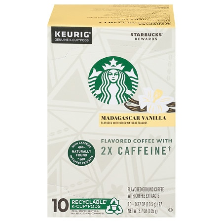 Starbucks Flavored Ground Coffee with