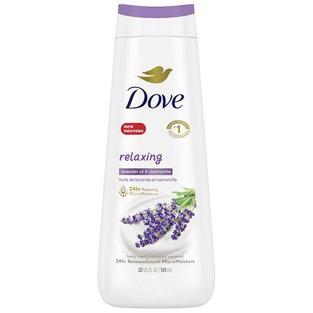 Dove Body Wash, Lavender Oil and Chamomile - 22.0 fl oz