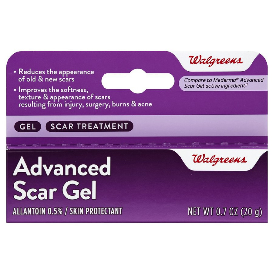 Walgreens Advanced Scar Gel Walgreens