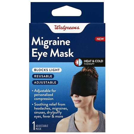 amp; Hot Migraine Mask Walgreens Cold Eye