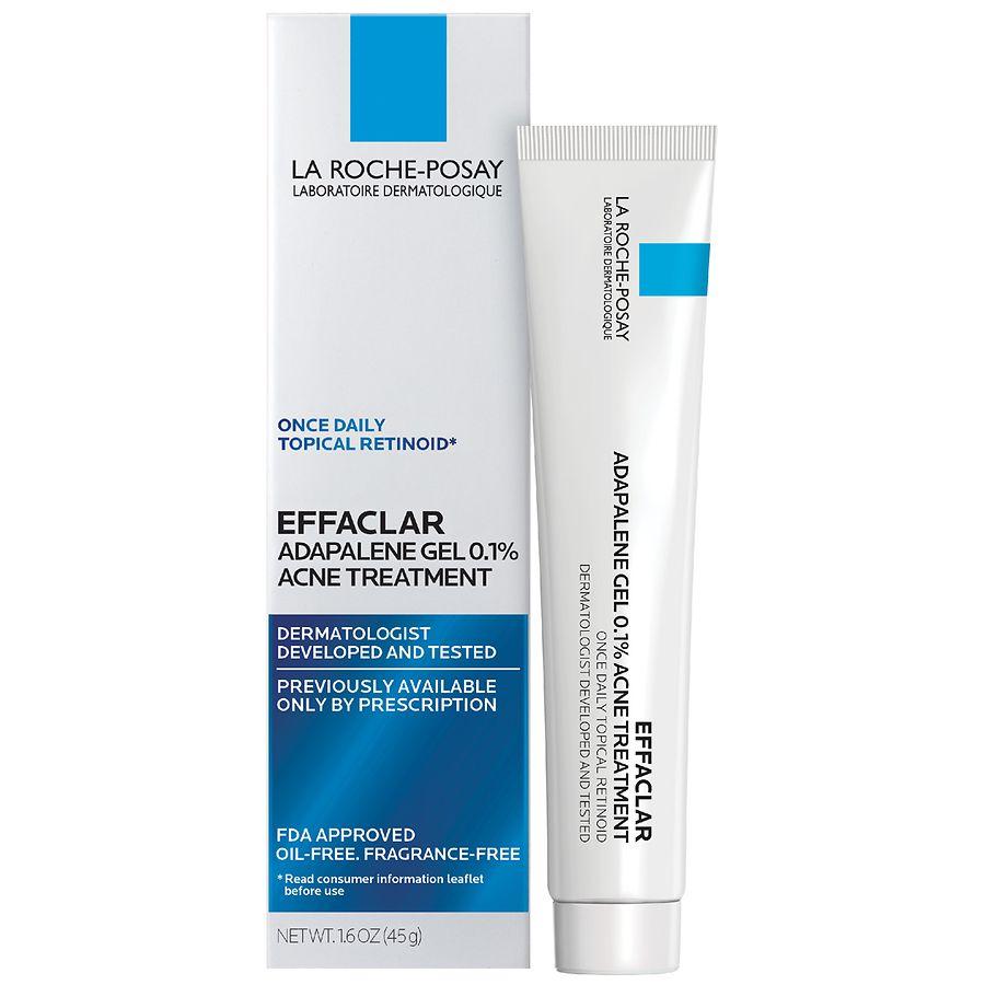 La Roche - Posay EffaclarAdapalene Gel 0.1% Retinoid Acne Treatment 1.6oz