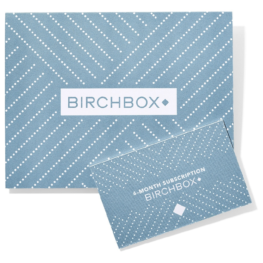 Birchbox Grooming 6 Month Subscription Gift Card