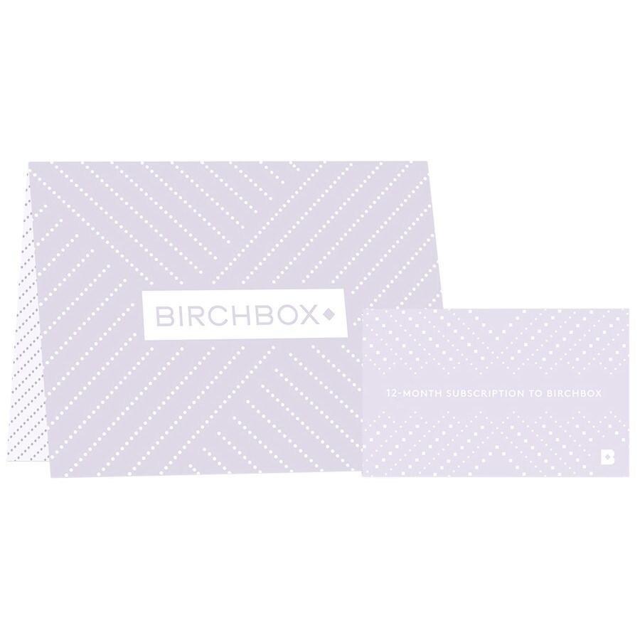Birchbox 12 Month Subscription Gift Card