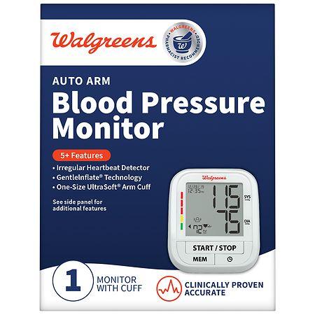 Walgreens Auto Arm Blood Pressure Monitor 1.0ea