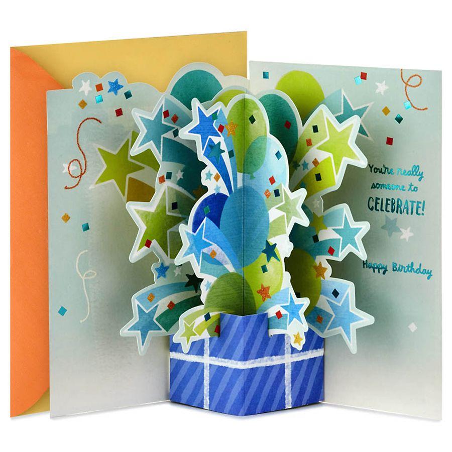 Hallmark Paper Wonder Pop Up Birthday Card Someone to Celebrate