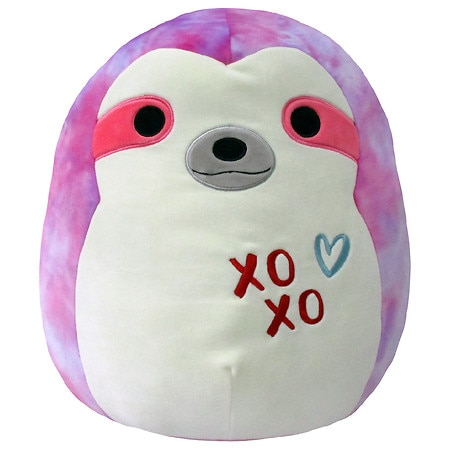 Squishmallow Tie Dyed Sloth 16 Inch