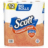 12-Count Scott ComfortPlus Toilet Paper Big Roll