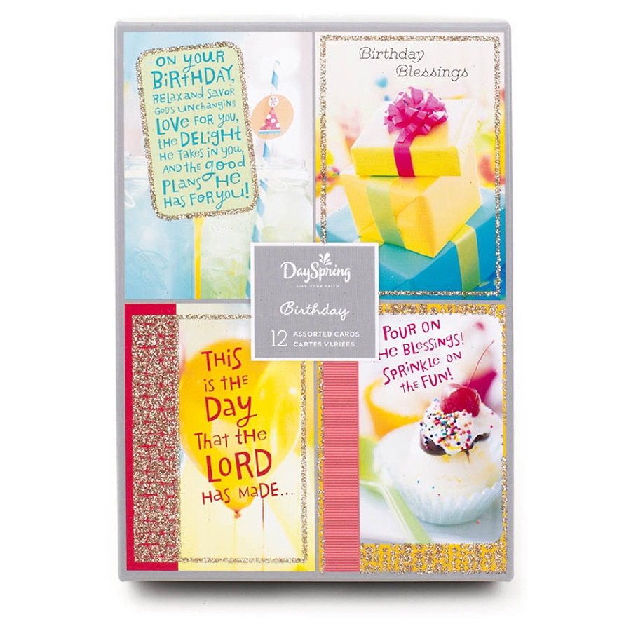 Blessings at Easter, HALLV Hallmark Dayspring Pack of Religious Easter Cards