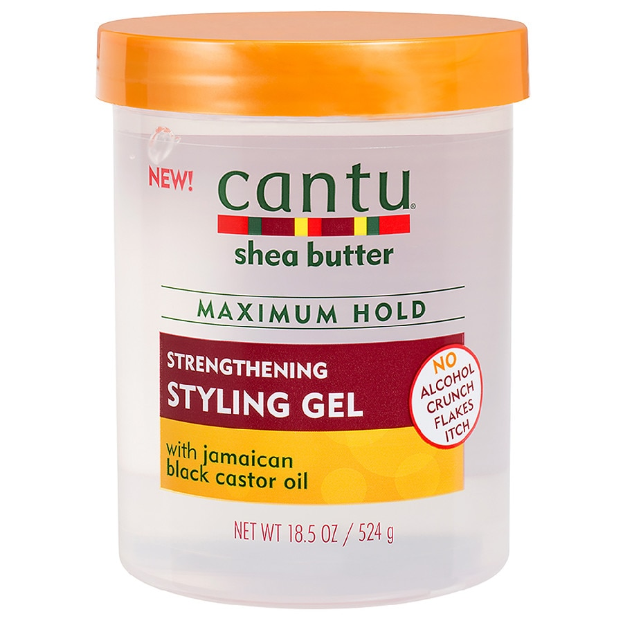 Cantu Shea Butter Maximum Hold Strengthening Styling Gel With Jamaican Black Castor Oil Walgreens