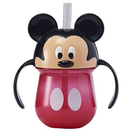 The First Years Disney Baby Mickey Mouse Straw Cup with Handles - 1.0 ea