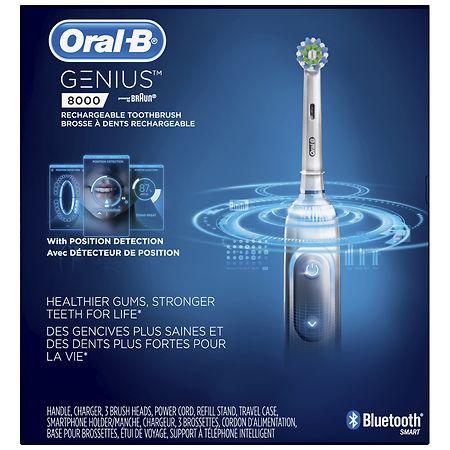 Oral-B Genius 8000 Electronic Toothbrush - 1.0 ea
