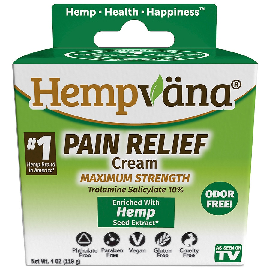Hempvana Hemp Extract Pain Cream Walgreens