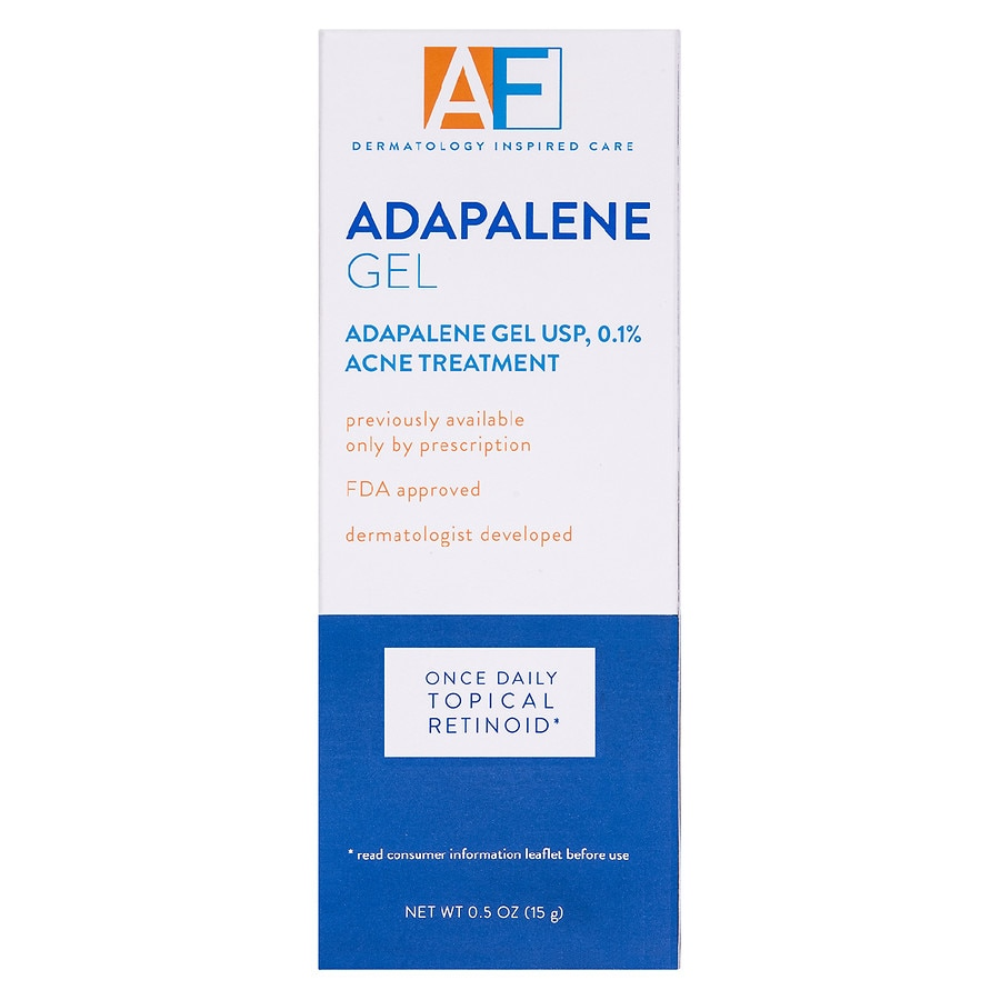 Acnefree Adapalene Gel 0 1 Once Daily Topical Retinoid Acne