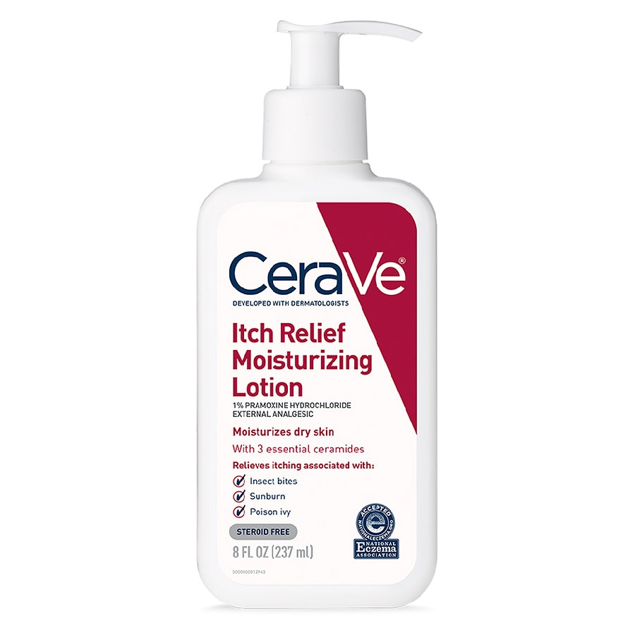 Cerave Itch Relief Moisturizing Lotion For Dry Skin Walgreens