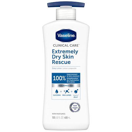 Vaseline Extremely Dry Skin Rescue Overnight Cream