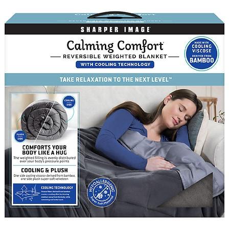 Image of Sharper Image Calming Comfort Weighted Blanket - 15.0 lb