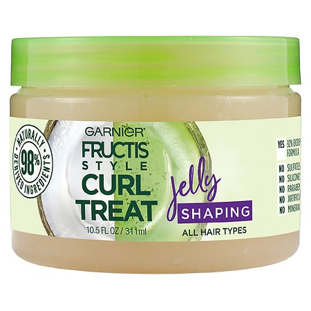 Garnier Fructis Style Curl Treat Jelly Shaping Leave-in Styler to Shape Curls - 10.5 fl oz