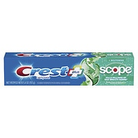 Deals on 2 Crest + Scope Whitening Toothpaste 5.4Oz + Toothpaste 4.6-Oz