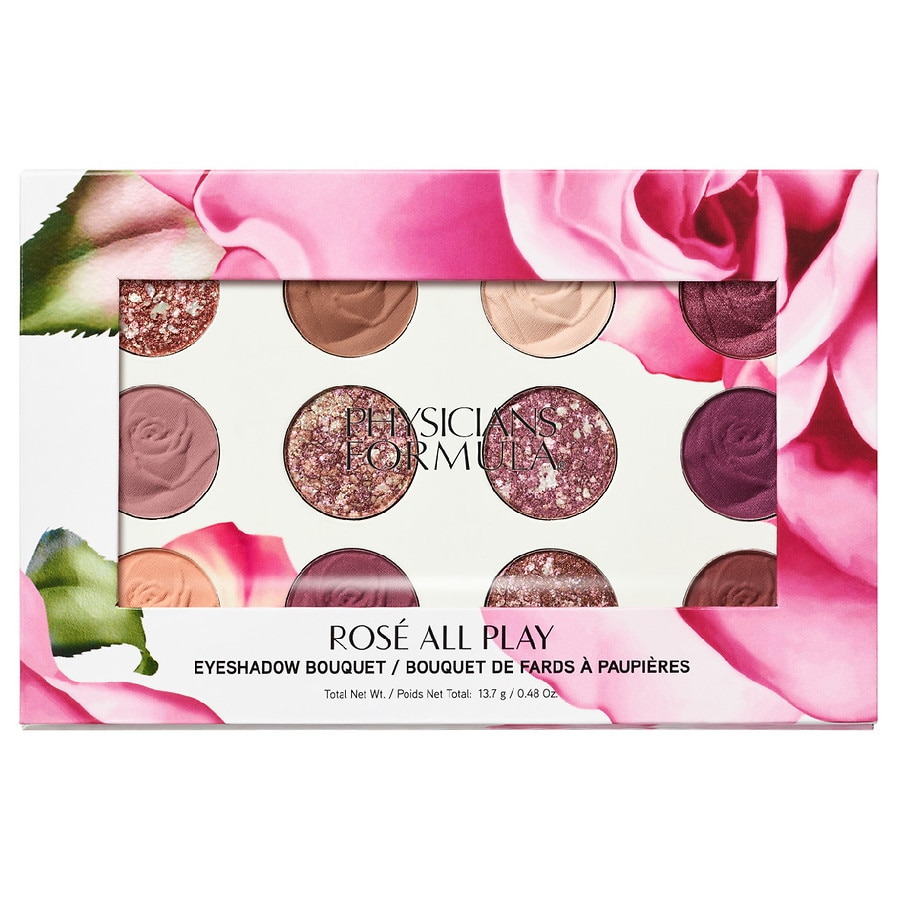 Physicians Formula Eyeshadow Bouquet, Rose All Play 1.0ea