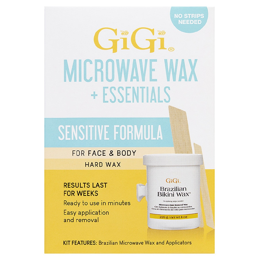 Gigi Brazilian Sensitive Microwave Wax Kit Walgreens