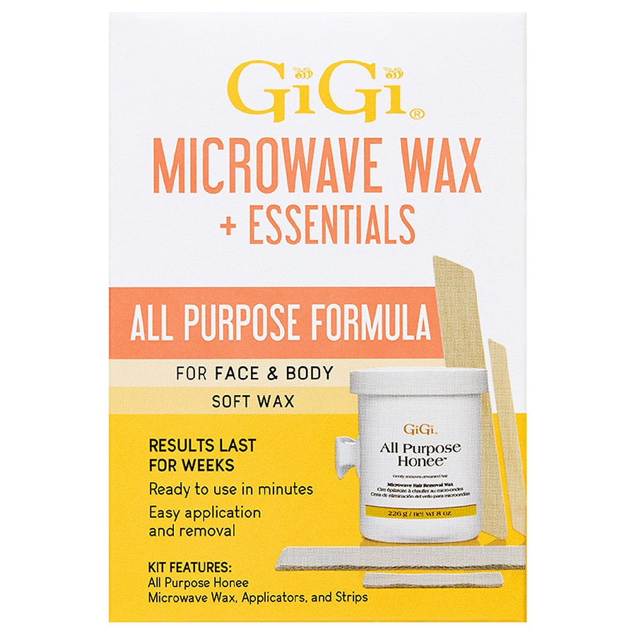 Gigi All Purpose Honee Microwave Wax Kit Walgreens