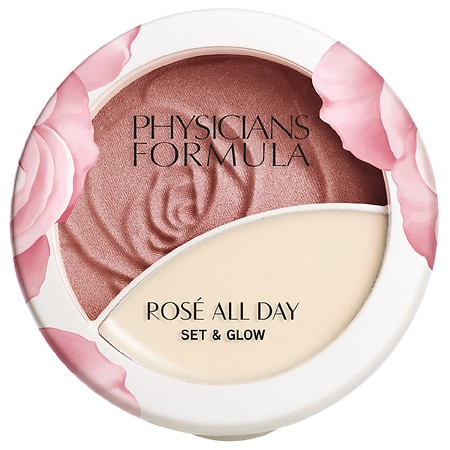 Physicians Formula Rose All Day Set & Glow Powder - 0.36 oz
