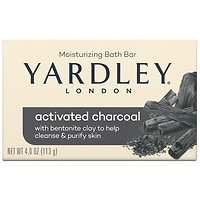 Deals on Yardley of London Activated Charcoal Single Bar Soap4.25oz