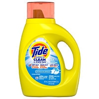 Deals on 4 Tide Simply Clean & Fresh Liquid Laundry Detergent, Breeze