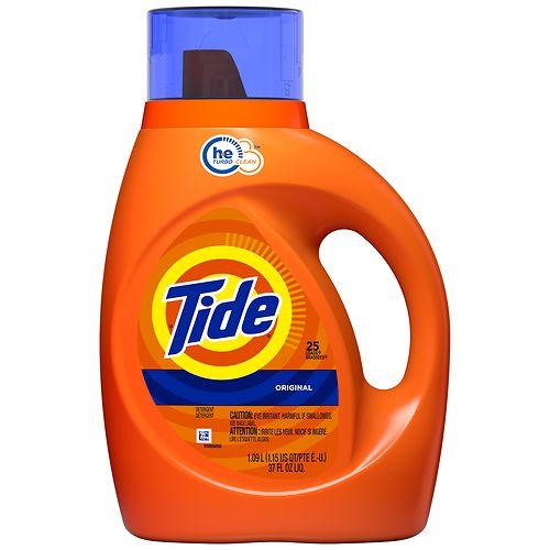 4-Pack Tide Laundry Detergent + 2-Pack Bath Tissue + Persil Detergent