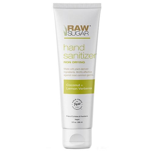 Raw Sugar Hand Sanitizer Coconut + Lemon Verbena 9.0oz