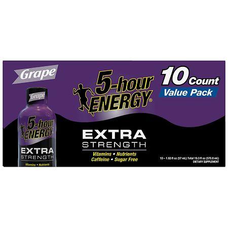 Image of 5-Hour ENERGY Shot, Extra Strength - 1.93 oz x 10 pack