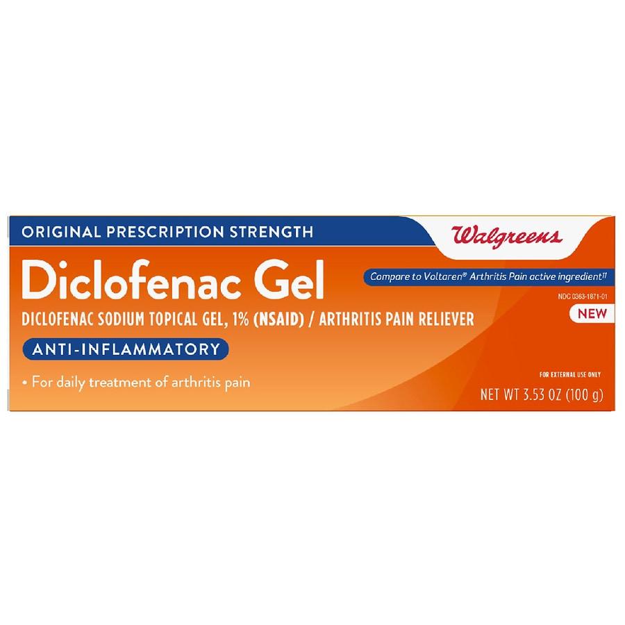 Walgreens Diclofenac Sodium Topical Gel Walgreens