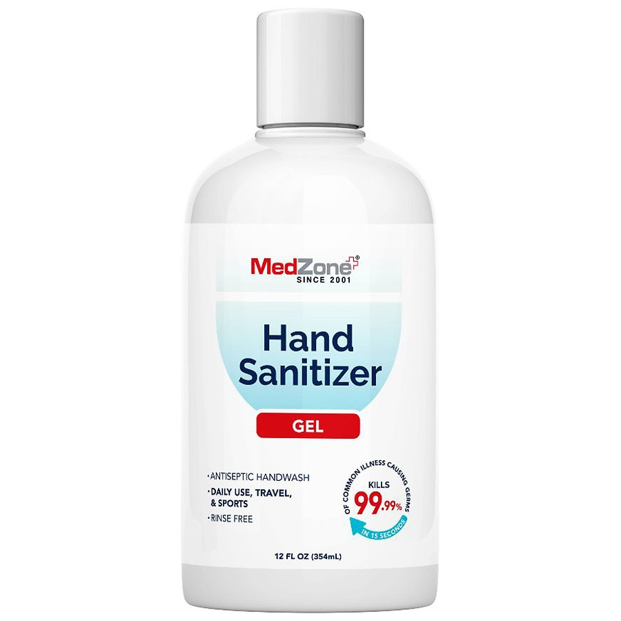 MedZone Hand Sanitizing Gel 12.0fl oz