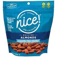 Nice! Roasted Lightly Salted 16oz Almonds